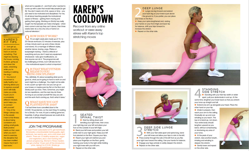 Women's Fitness June 2020  Page 3-4