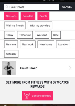 Gymcatch App Search Hauer Power