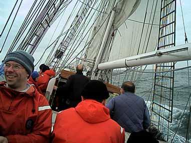 Tall ship team building training pro