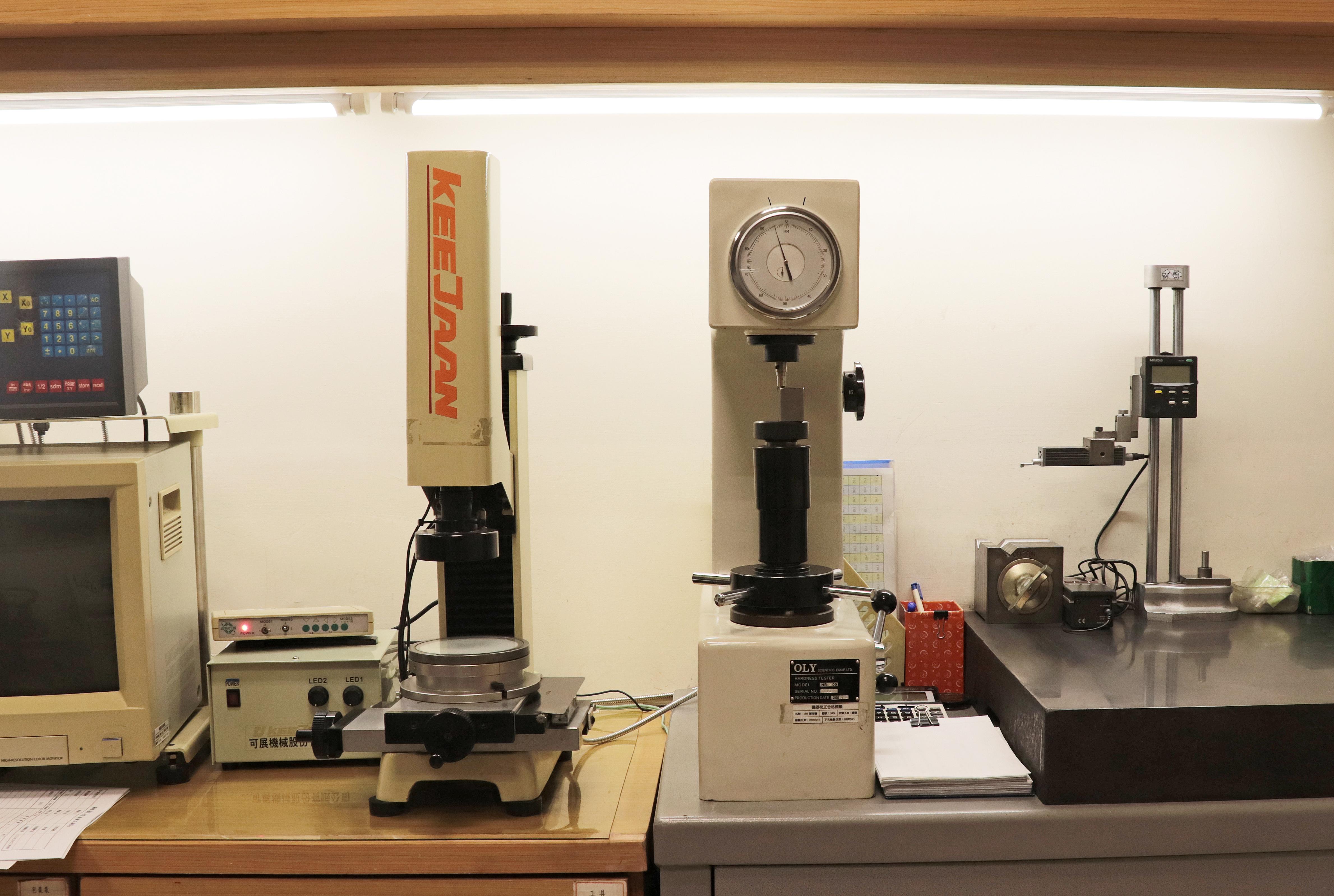 2.5D投影機 / 硬度機 / 粗度機