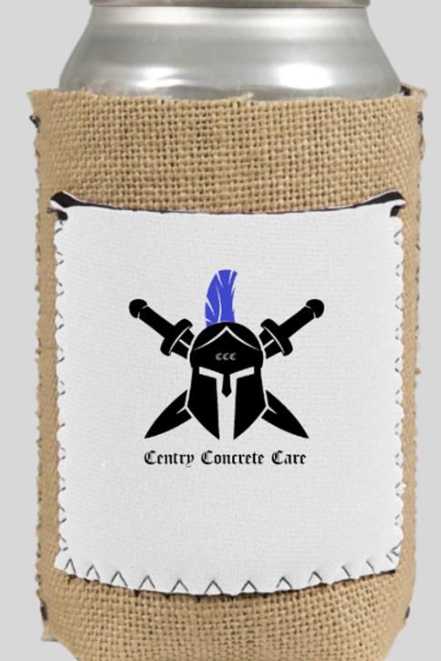 Centry Centurion Burlap Koozie