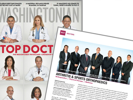 """Dr. Peyton Named """"Top Doctor"""" (again!)"""