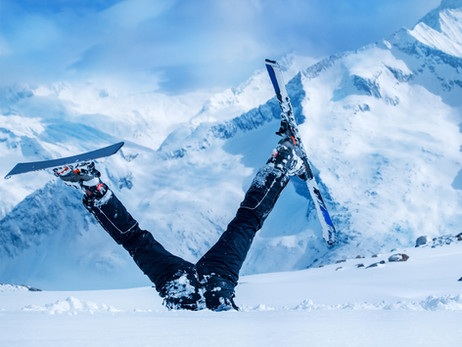 Winter Sports 101 – How To Fall Properly