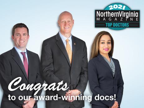 "Northern Virginia Magazine Names Arthritis & Sports Providers ""Top Doctors""!"