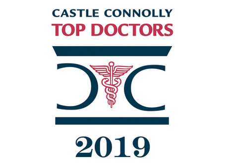 Arthritis & Sports Specialists Named 2019 'Top Doctors' by Castle Connolly
