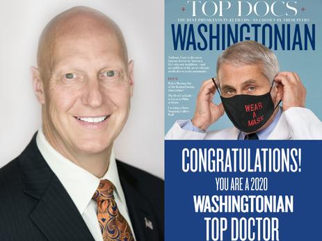 Dr. Peyton Named Top Doc By Washingtonian Magazine