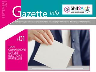 La Gazette Info de Septembre 2021