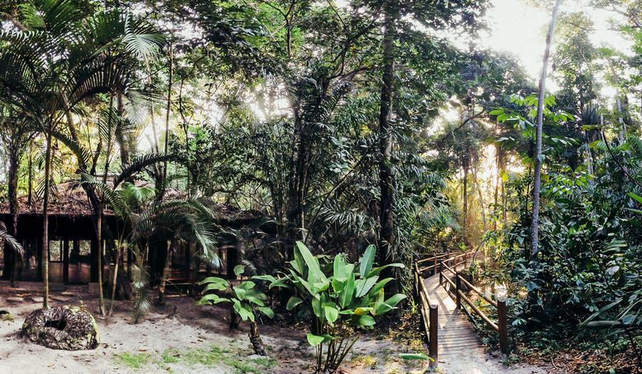 The bridge to happiness Canto Leela eco bungalows