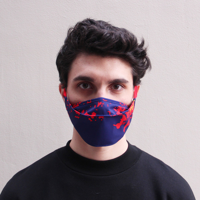 luz-y-piedra-facemask-covid19-redandblue