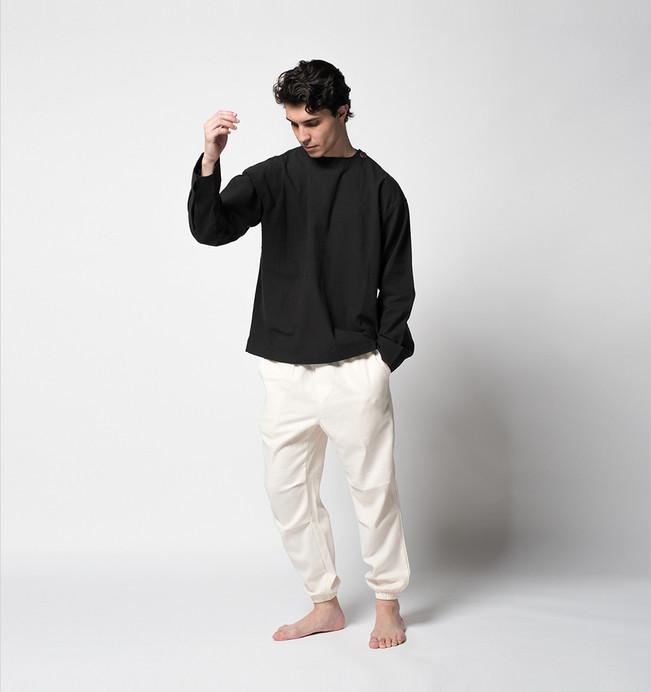 Luzypiedra-Equilibrio- Camisa Cerrada Ne