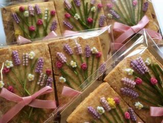 お花のクッキーオーダー
