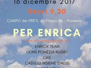 ASD Pomezia Rugby partner ufficiale della Cicala e la Formica Onlus