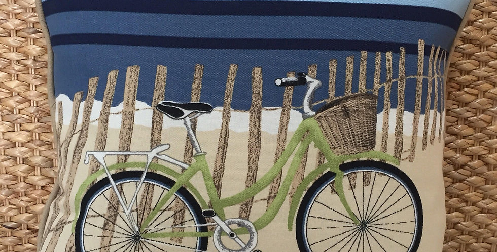 Bicycle At The Beach -  Fiber Fill
