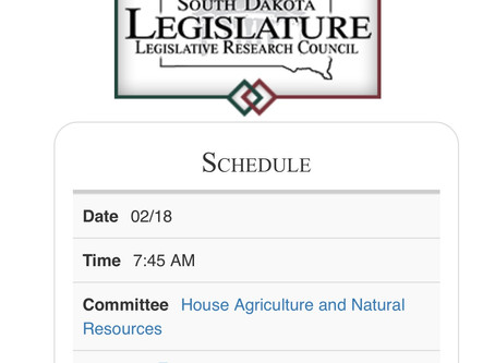 Want to stay in the know on South Dakota legislation?