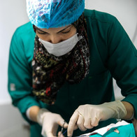 Dr. Noha the Clinic Vet