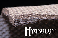 Hygrolon is a unique material that absorbs and holds up to 280% of water
