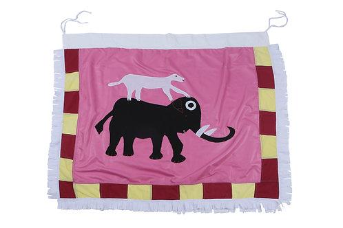 Prideful Elephant - Mini Flag