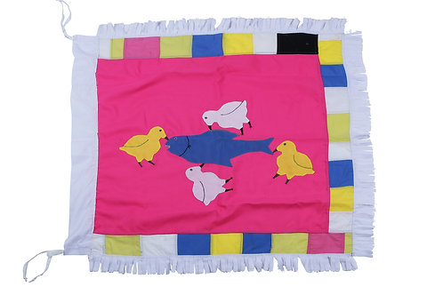 The Fish & Robin Birds - Mini Flag
