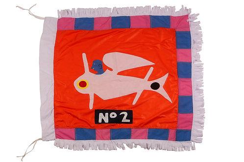 The Plane - Mini Flag