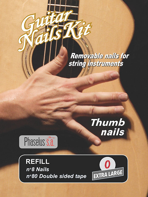 "Ricarica/Refill - Solo ""Thumb"" - ""Hard"" and ""Soft"""