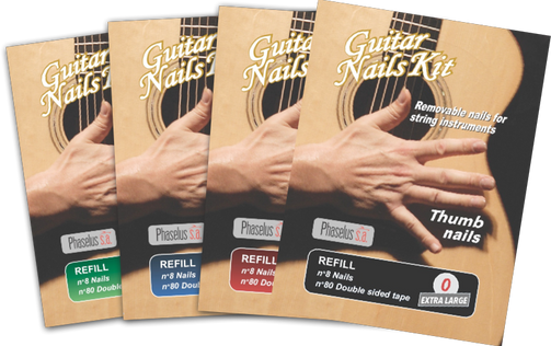 Removable Nails for String Instruments