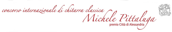 Concorso internazionale di chitarra classica Michele Pittaluga città di Alessandria