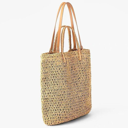 Designer Luxury Woven Shoulder Bag Bohemia Large Capacity Straw Tote