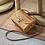 Thumbnail: Women's Boho Handmade Straw Summer Beach Crossbody Bag