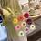 Thumbnail: Flower Clear Shopping Bag Transparent Beach Bag Jelly Tote