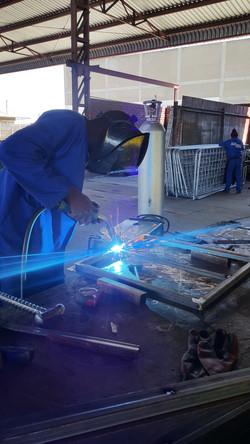 Window welding