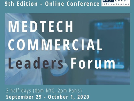 MedTetch Commercial Leaders Forum kick-off