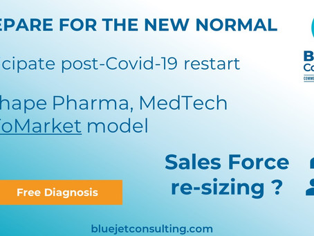 Pharma & Medtech, prepare for the new normal: sales force re-sizing, multi-channel resource plan