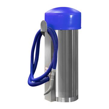 comercial vac - 100002 - blue hose - blu