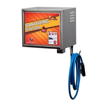 100423-01 - sanitizing station - wall -