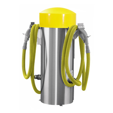 100006 - commercial vac - yellow hose -