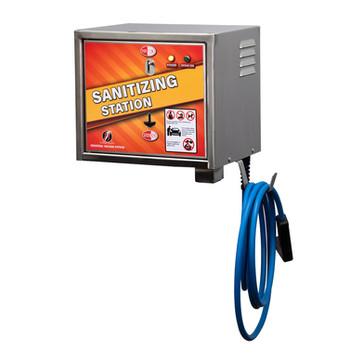 100424-01 - sanitizing station - wall -