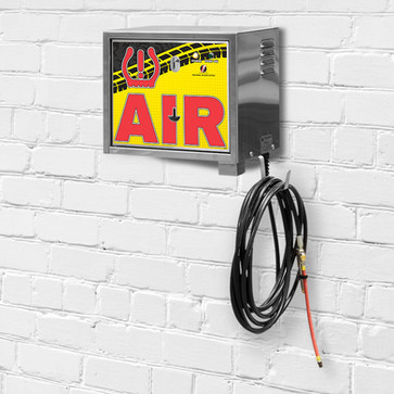 air machine - wall mount - pay - yellow