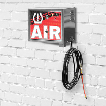 air machine - wall mount - pay - red - l