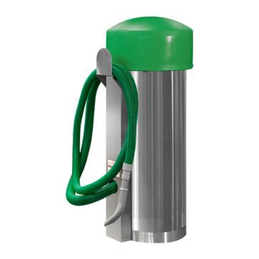 comercial vac - 100002 - green hose - gr