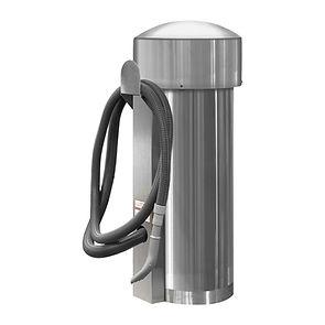 comercial vac - 100002 - grey hose - ss