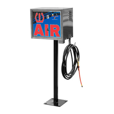air machine - pedistal mount - pay - blu