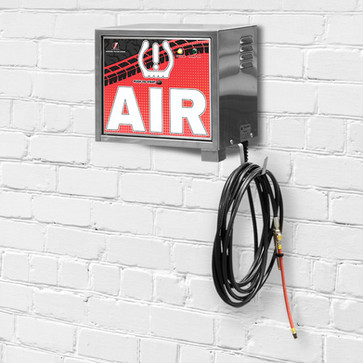air machine - wall mount - free - red -