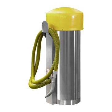 comercial vac - 100002 - yellow hose - y