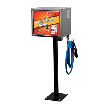100423-01 - sanitizing station - stand -