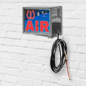 air machine - wall mount - pay - blue -