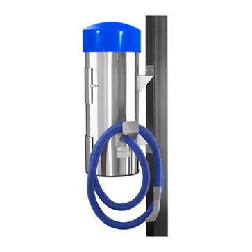 comercial vac 100005 - blue hose - blue