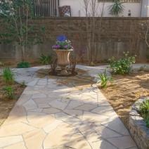 洋風の庭04
