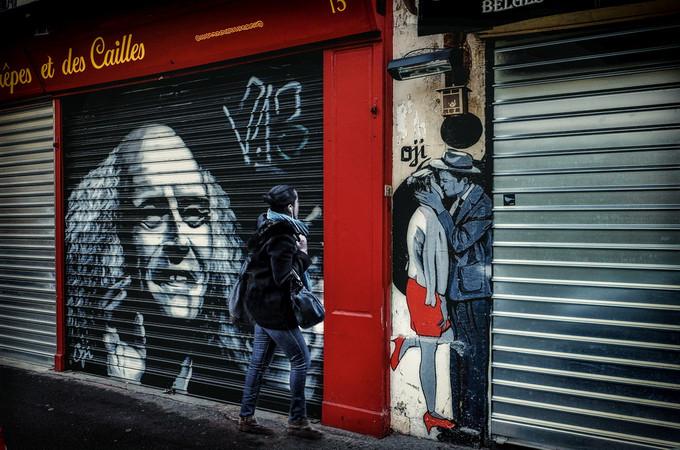 Street art Paris Butte aux cailles