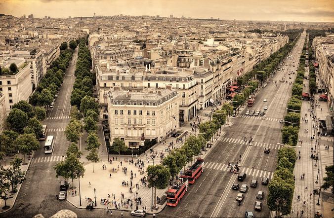 Paris Champs Elysée