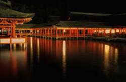 Myajima temple Itsukushima-jinja
